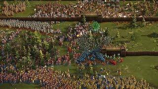 Cossacks 3 - 4P FFA  THE FINAL SIEGE | Multiplayer 4K Gameplay