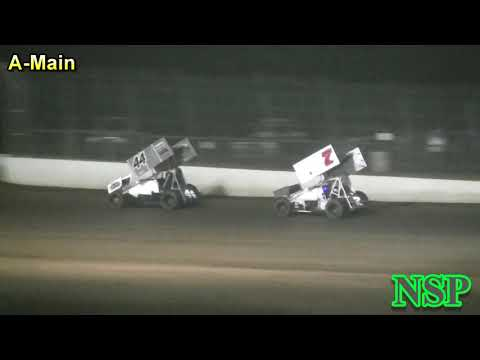 August 18, 2018 ISCS Sprints A-Main Grays Harbor Raceway