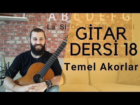 Gitar Akorları Nasıl Basılır | Gitarda Akorların Yerleri | Gitar Dersi