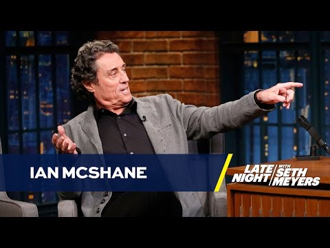 Ian McShane Still Gets Recognized for Playing Andy Samberg's Dad in Hot Rod