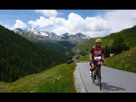 Alpok bringával / Cycling & Alps: Juf (2126 m) , Alp Stierva (2145 m)