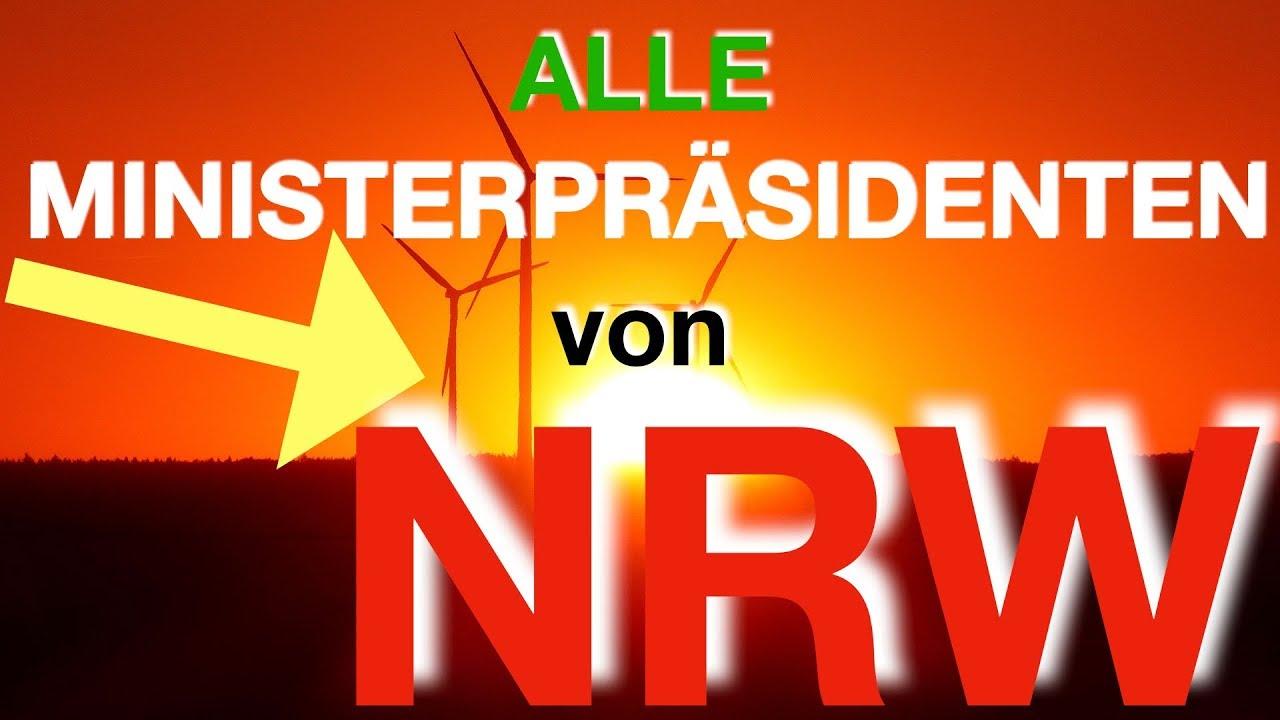 Alle NRW-Ministerpräsidenten - YouTube