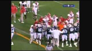 Auburn vs. Georgia Fight 2010 (Michael Goggans ejected over punch)