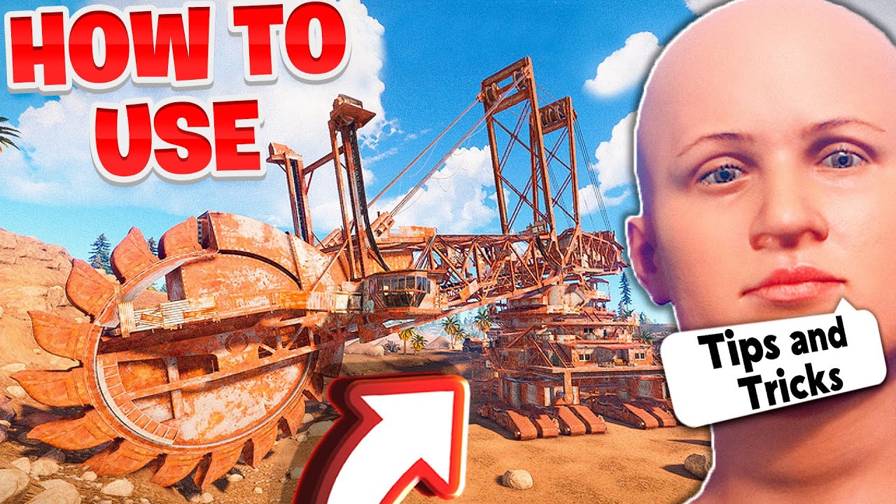 How To Use Giant Excavator Pit In Rust! (Tips and Tricks)