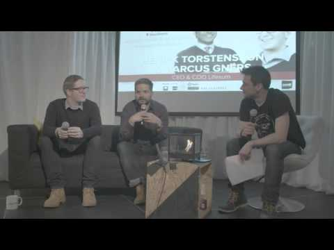 Henrik Torstensson, CEO & Marcus Gners, COO of Lifesum at Startup Grind Stockholm