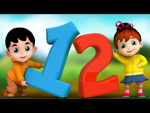 Junior Squad Kids Nursery Rhymes - one two buckle my shoe counting song baby songs Jr.Squad S01EP04