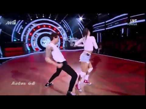 Dancing with the Stars 6: 1ο Live | Βαγγέλης Κακουριώτης & Νικολέτα Μαυρίδη {26/1/2018}