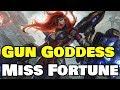 NEW SKIN! Gun Goddess Miss Fortune | Skin spotlight and Gameplay