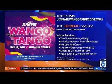 One Lucky Viewer Won the Ultimate Wango Tango Giveaway