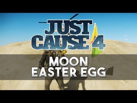 moon easter egg just cause 4