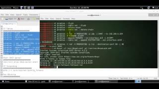 3 Kali linux bölümünde IP Tablo ile Sahte bir AP oluşturma
