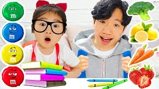 現在該去學校了! Kids Go To School Learning And So Much Fun!