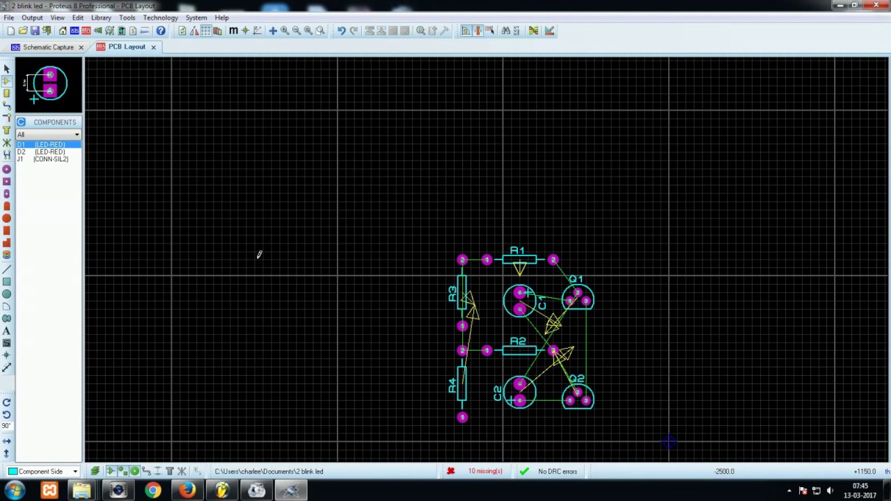 Astable Multivibrator Circuit In Proteus Easy Explanation Youtube Operation Mode