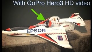gopro hero3 rc dragonfly skipper seaplane fpv 1st time flight hk ng tung river