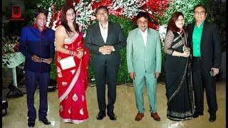 Bollywood Comedian Celebs With Wives Arrives At Jayantilal Gada's Son Akshay Wedding Reception