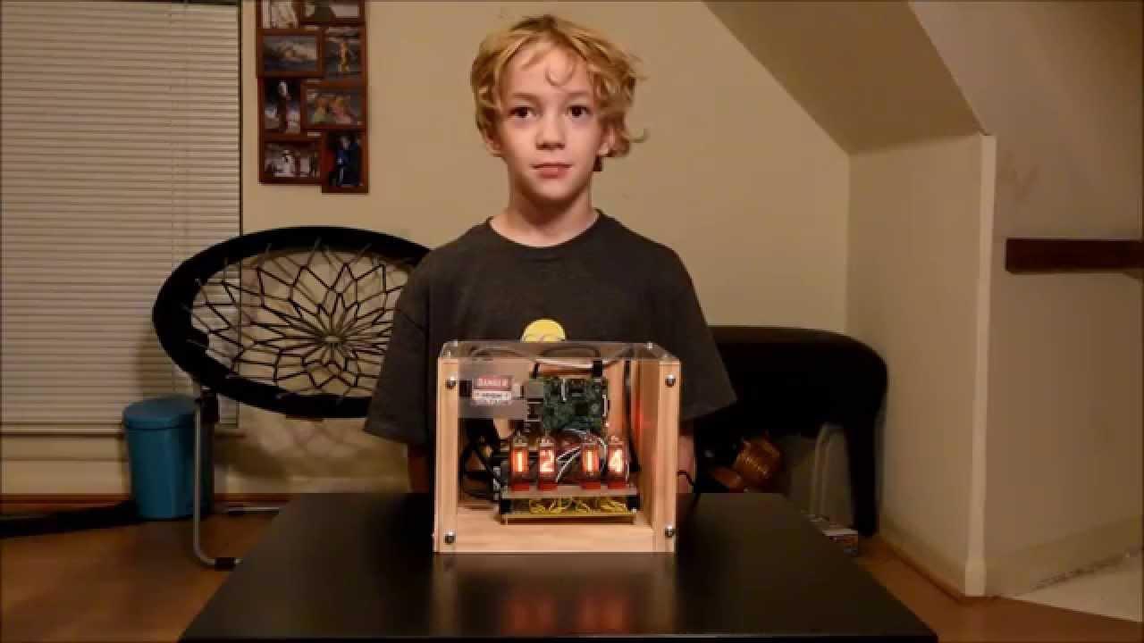 Alex's Nixie Clock - Raspberry Pi