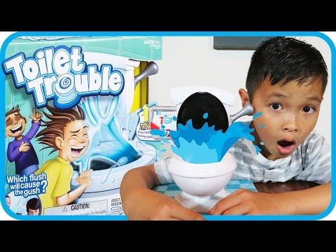 TOYS R US Toilet Trouble Funny Game Challenge - TigerBox HD