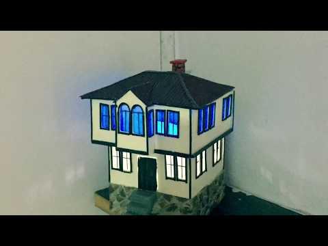Maket Ev Yapımı - Tarihi Safranbolu Evi Işıklı How to make a model house Vol 1