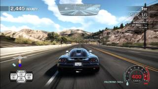 Need For Speed: Hot Pursuit   One Step Ahead - 4:36.10   Former WR