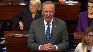 Schumer speaks after 'skinny repeal' fails