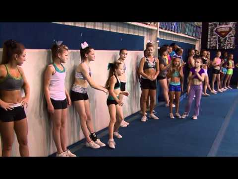 Cheer Extreme Tryouts Cheerleading & Gymnastics COMBINED! CHEER IS A SPORT! (Video by JTV)
