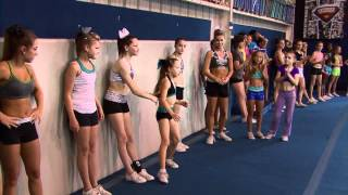 Repeat youtube video Cheer Extreme Tryouts Cheerleading & Gymnastics COMBINED! CHEER IS A SPORT! (Video by JTV)