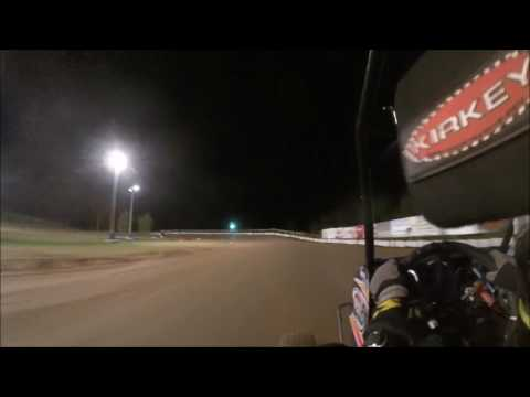 Thunderhill speedway Wingless warriors wisconsin state championship heat race 9/10/16