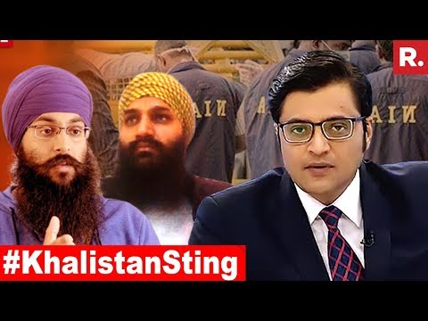 Khalistani Global 'Break India' Plot EXPOSED | The Debate With Arnab Goswami