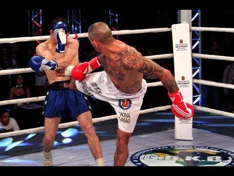 Shamil Gadzhimusaev X Emerson Falcão - WGP Kickboxing 20 Brasil X Russia
