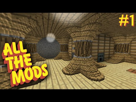 All the Mods - E01 - Actually Additions, Roots, and Chisels & Bits (Modded Minecraft 1.10.2)