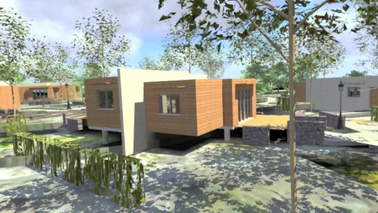 Architecte en corse projet d 39 architecture contemporaine for Table d architecte en bois