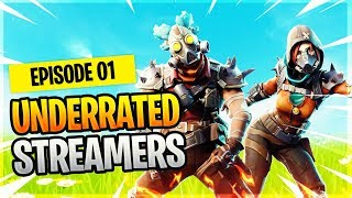Underrated Fortnite Streamers from Twitch #1 - Fortnite Epic & Funny Moments