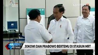 Pertemuan Jokowi-Prabowo Redakan Ketegangan Pascapilpres