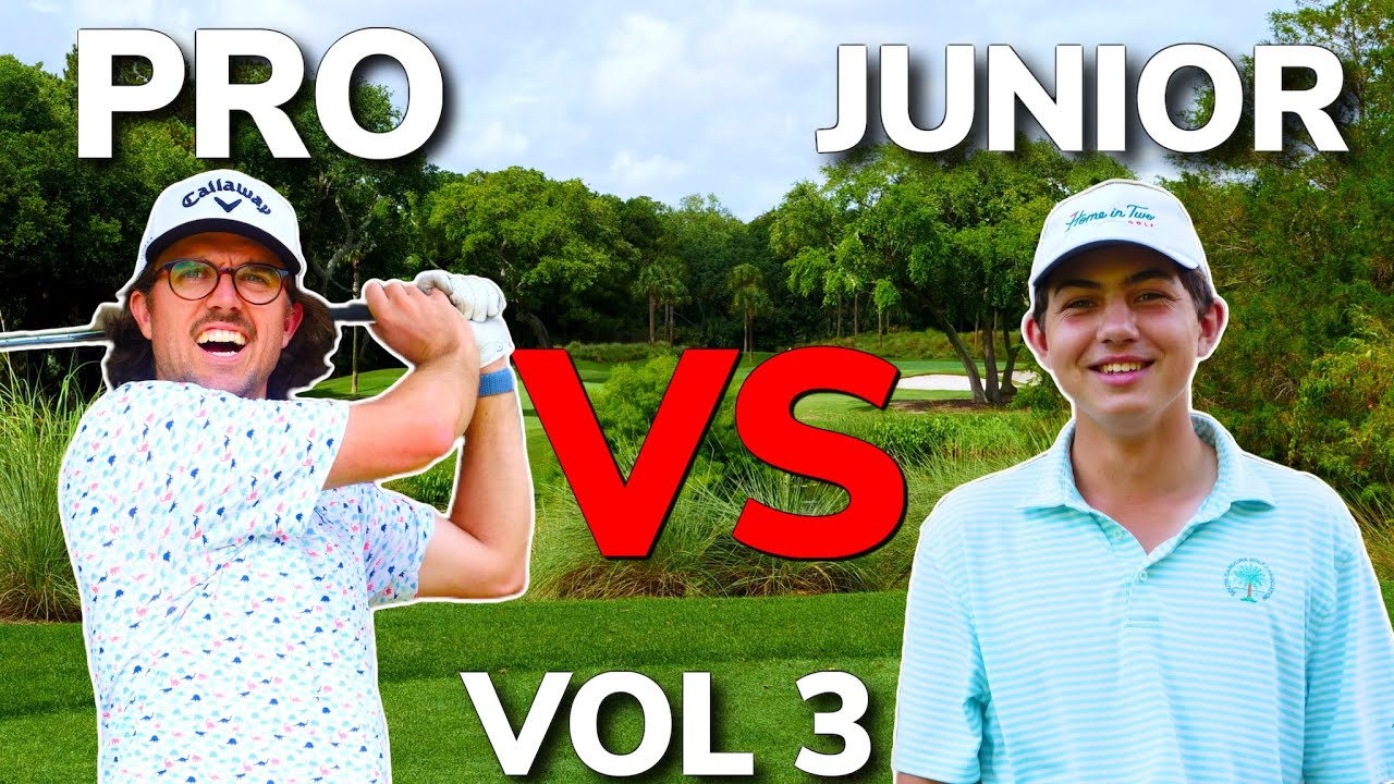 KIAWAH ISLAND Pro Vs Junior!! Can I Win 3 Matches in a Row Playing TERRIBLE!?   Bryan Bros Golf