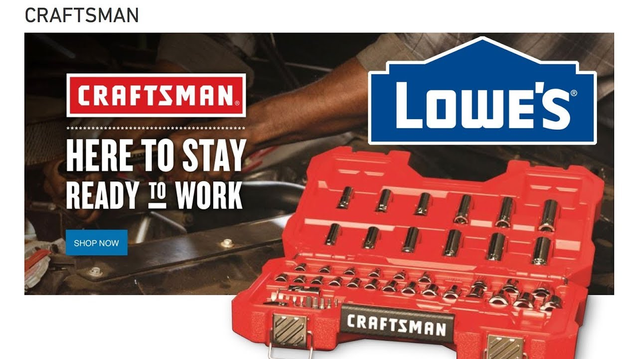 Lowes Now Sells Craftsman Tools Youtube 4 Way Switch
