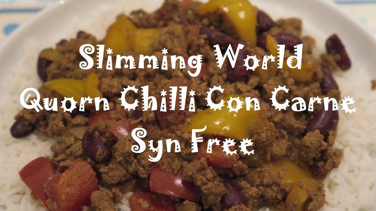 Quorn Chilli Con Carne >> Slimming World Quorn Chilli Con Carne Syn Free
