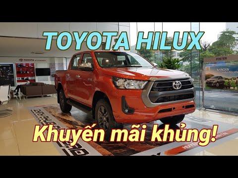 Bảng Giá Xe Toyota Hilux Tháng 5/2021 Khuyến Mãi Cực Sốc 125Tr Mua Xe Trả Góp Giá Tốt