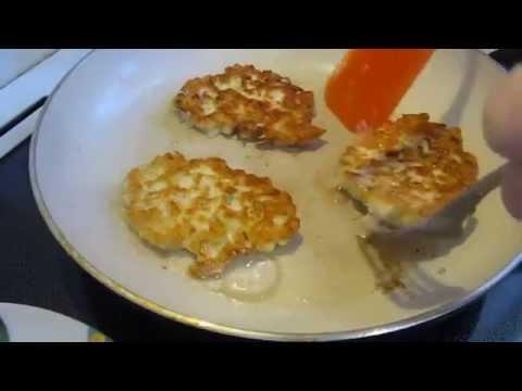 котлеты с сыром пошаговый рецепт приготовления
