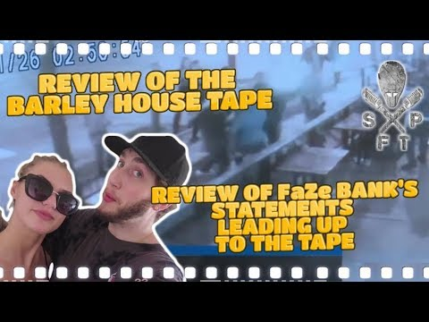 Barley House might be within their rights to physically remove FaZe Banks w/ Colossal is Crazy