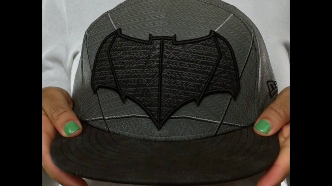 74abd84603a Batman  CHARACTER ARMOR  Fitted Hat by New Era - YouTube