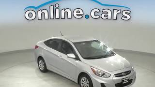 R12328TR Used 2017 Hyundai Accent silver Sedan Test Drive, Review, For Sale