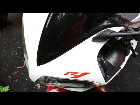 Yamaha R1 Superbike Cold Startup TOCE Exhaust Mumbai India