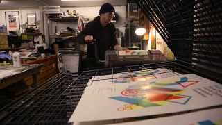 The Print Project: letterpress printing