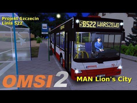 MAN Lion's City - Projekt Szczecin Linia 522 OMSI 2