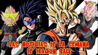 LA FUSION DE BROLY BLACK GOKU ! VEGETTO EN DBSUPER - NOTICIAS DE LA SEMANA DE DRAGON BALL #3