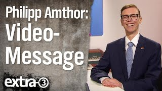Philipp Amthor mit einer Video-Message