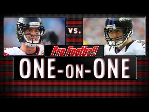 Which QB will send his team to the Super Bowl: Joe Flacco or Matt Ryan?