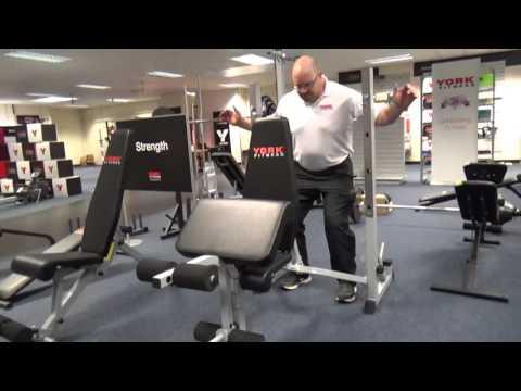 York Fitness 540 Bench