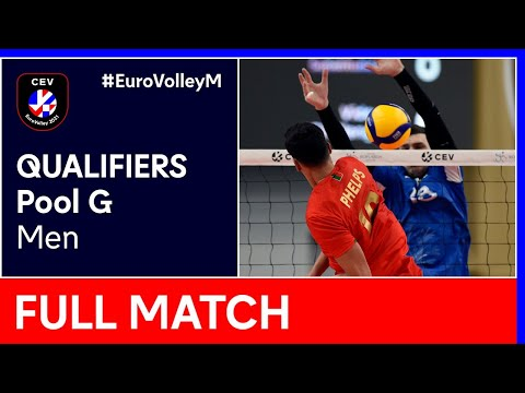 Portugal vs. Hungary - CEV EuroVolley 2021 Qualifiers Men