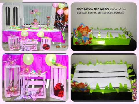 Ideas para decorar fiestas infantiles con material - Ideas para decorar fiestas ...
